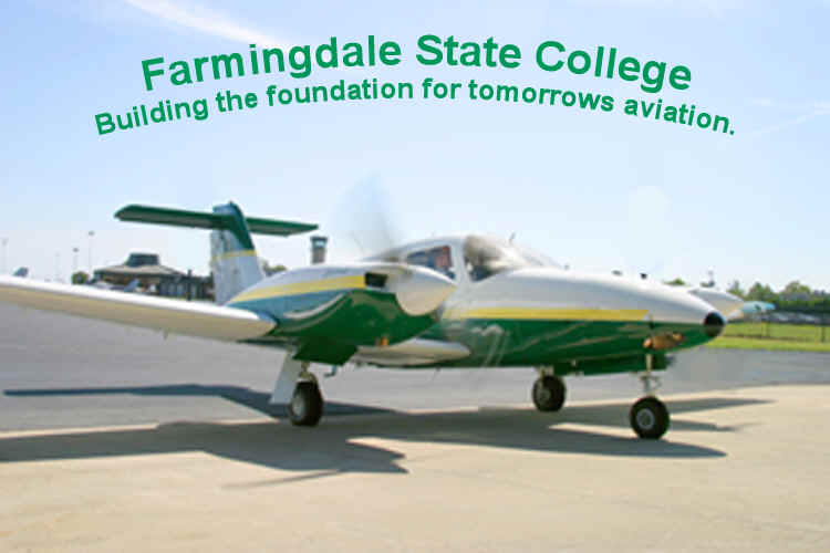 Welcome to the Department of Aviation at Farmingdale State College!